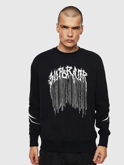 Diesel - S-BAY-B10, Black - Sweaters - Image 4