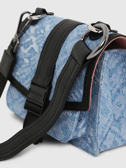Diesel - MISS-MATCH CROSSBODY, Blue Jeans - Crossbody Bags - Image 5