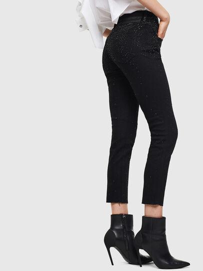 Diesel - Babhila 0093R, Black/Dark grey - Jeans - Image 3