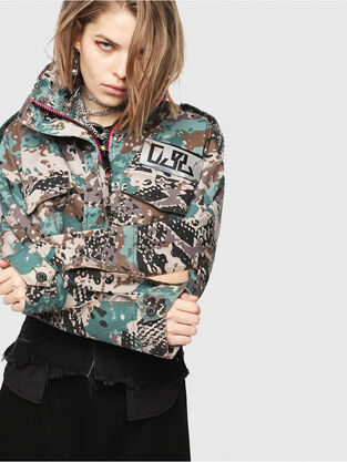 937cb21ea3d66 Womens Jackets: blazer, bombers | Go with the snooze · Diesel