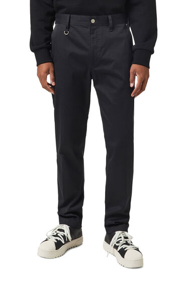 Chinos in brushed stretch twill