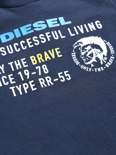 Diesel - TDIEGOXB, Dark Blue - T-shirts and Tops - Image 3
