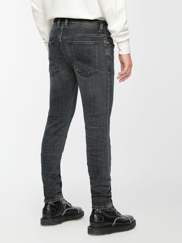 Diesel - Sleenker 084VQ, Black/Dark grey - Jeans - Image 2