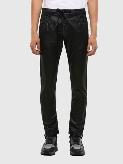 Diesel - Krooley JoggJeans 0849R, Black/Dark grey - Jeans - Image 1