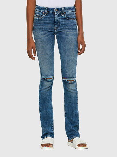 Diesel - Slandy-B 009PT, Light Blue - Jeans - Image 1