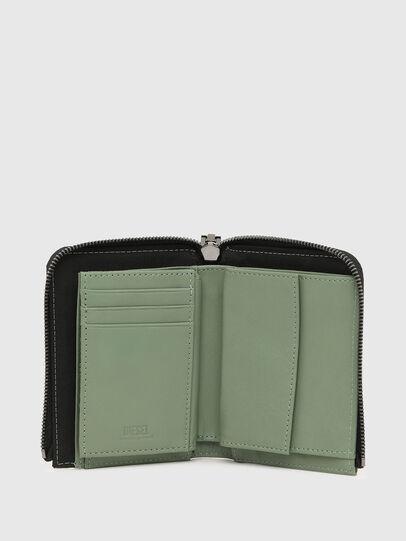 Diesel - L-12 ZIP, Olive Green - Zip-Round Wallets - Image 3