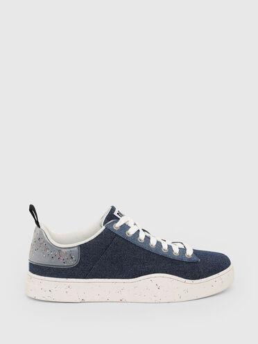 Green Label sneakers in denim