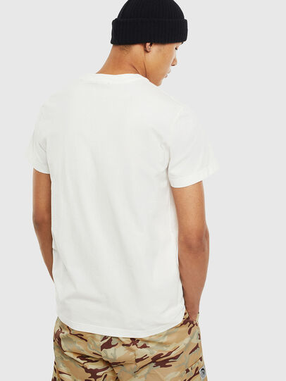 Diesel - T-WORKY-MOHI-S1, White - T-Shirts - Image 2