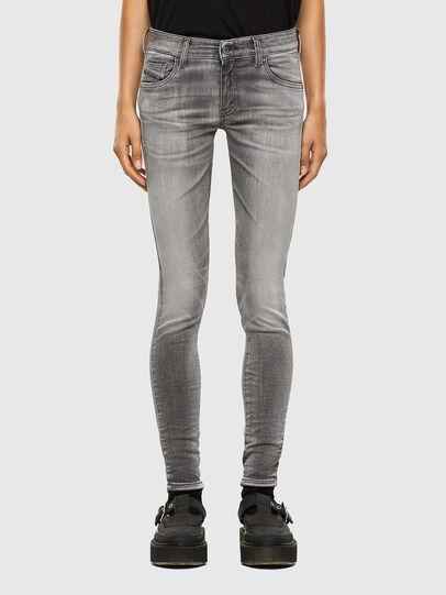 Diesel - Slandy Low 009FD, Light Grey - Jeans - Image 1