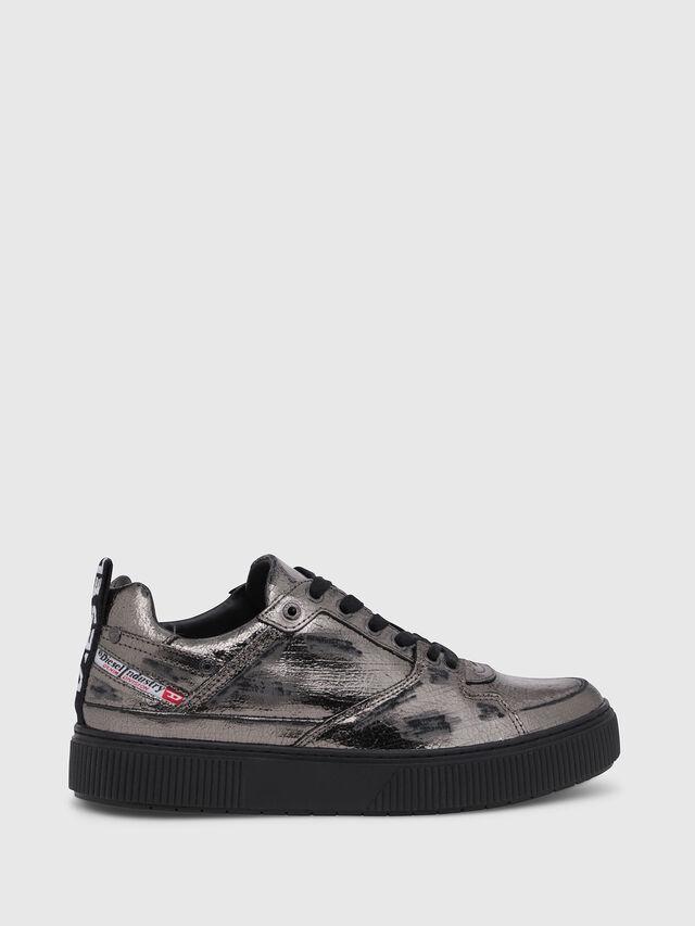 Diesel - S-DANNY LC II W, Silver/Black - Sneakers - Image 1