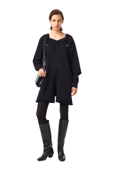 Layered-effect playsuit