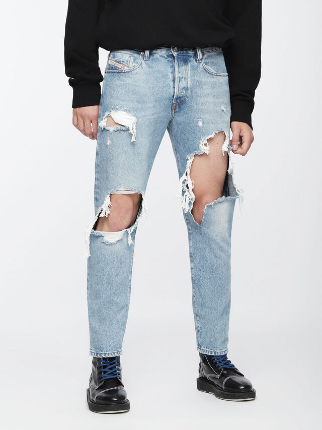 Diesel Mharky 0076M, Light Blue - Jeans - Image 1