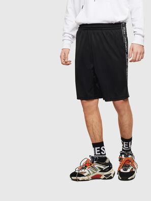 P-HITOSHI-S1, Black - Shorts