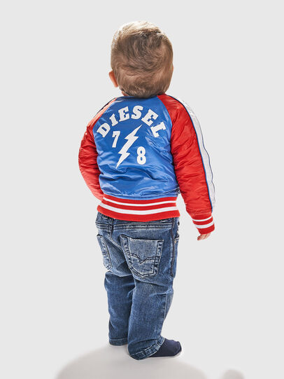Diesel - JBRANB, Blue/Red - Jackets - Image 6