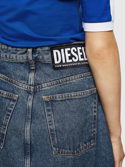Diesel - DE-SHIRLEY, Medium blue - Skirts - Image 6