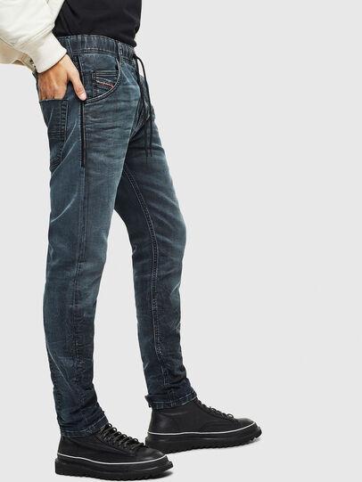 Diesel - Krooley JoggJeans 069MD, Dark Blue - Jeans - Image 4