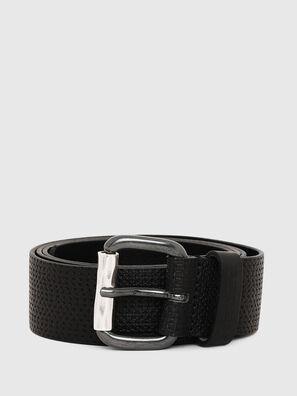 B-ROLLY, Black Leather - Belts