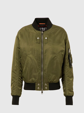 W-SWING, Military Green - Winter Jackets