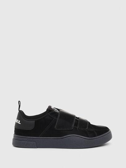 Diesel - S-CLEVER LOW STRAP W, Black - Sneakers - Image 1