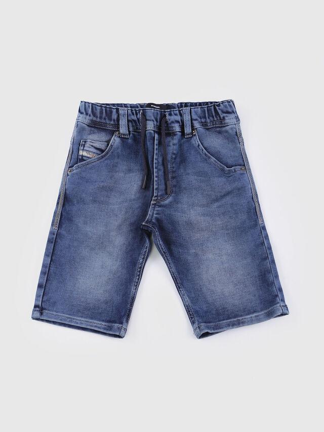 Diesel - KROOLEY SH JOGGJEANS J, Blue Jeans - Shorts - Image 1