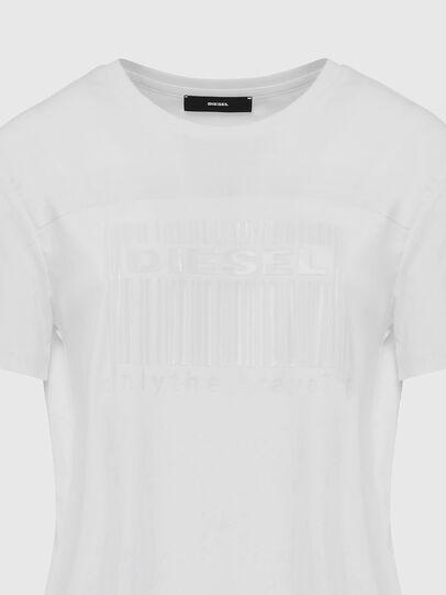Diesel - D-FELIX-LONG-E1, White - Dresses - Image 4