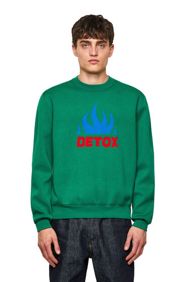 Pullover in fine jacquard knit