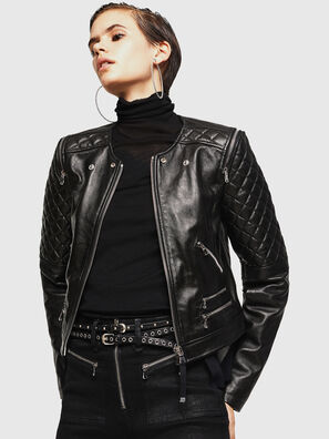 LIVIA, Black - Leather jackets