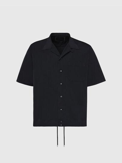 Diesel - S-MOOL-A, Black - Shirts - Image 1