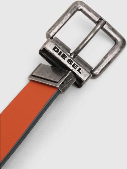 Diesel - B-DOUBLEX, Grey - Belts - Image 4