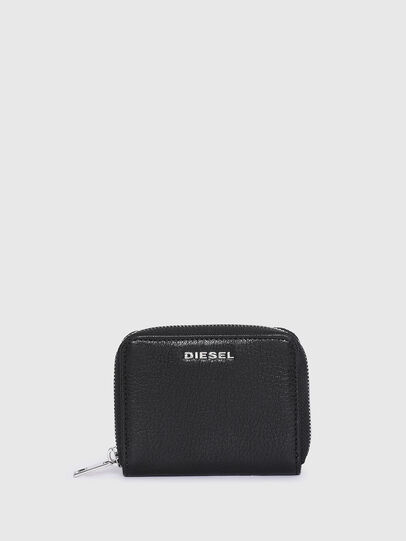 Diesel - CRASSU, Black - Zip-Round Wallets - Image 1