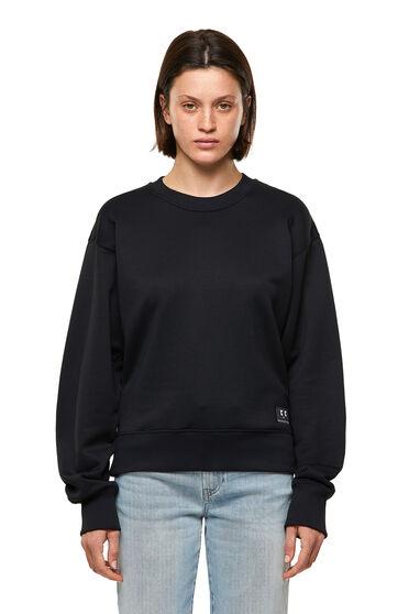 Sweatshirt with emoji patch