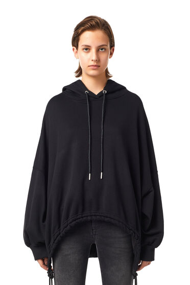 Poncho-style hoodie