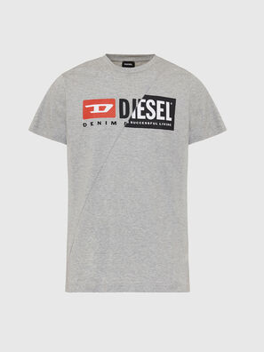 T-DIEGO-CUTY, Light Grey - T-Shirts
