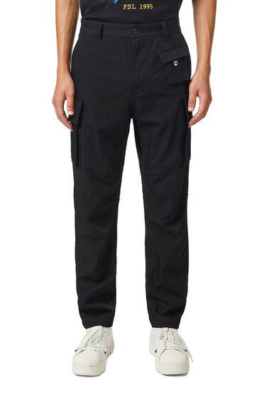 Cargo pants in performance wool