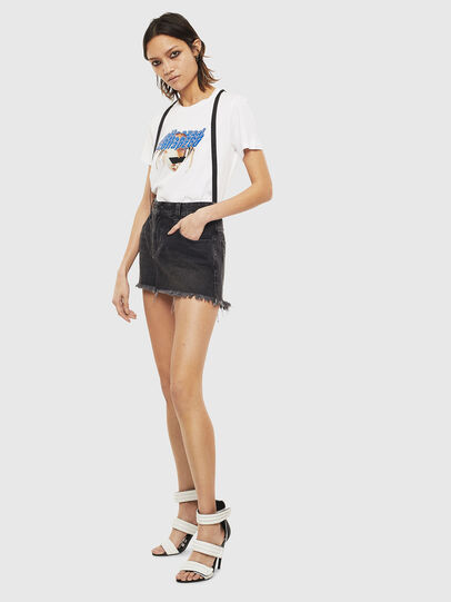 Diesel - T-SILY-S3, White - T-Shirts - Image 5