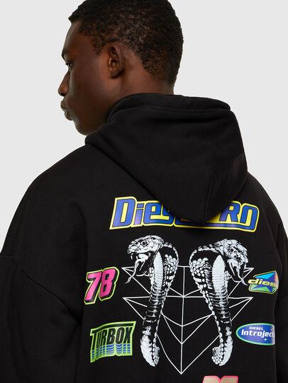 Diesel - S-UMMER-E4, Black - Sweaters - Image 4