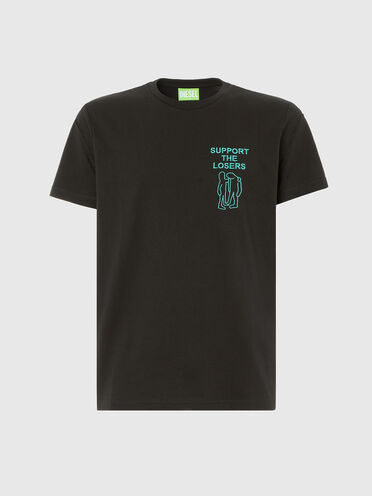 Green Label T-shirt with embroidery