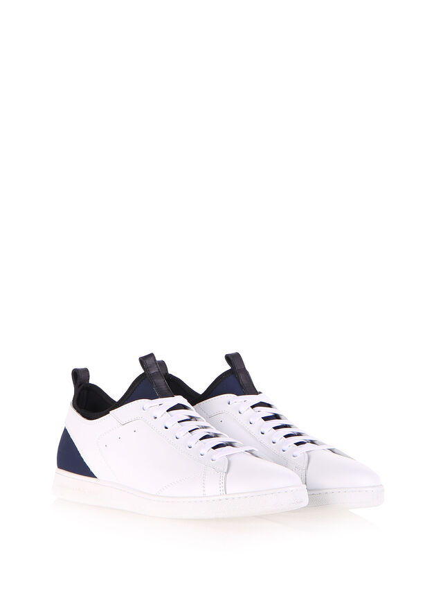 Diesel Black Gold S18ZERO, White - Sneakers - Image 2