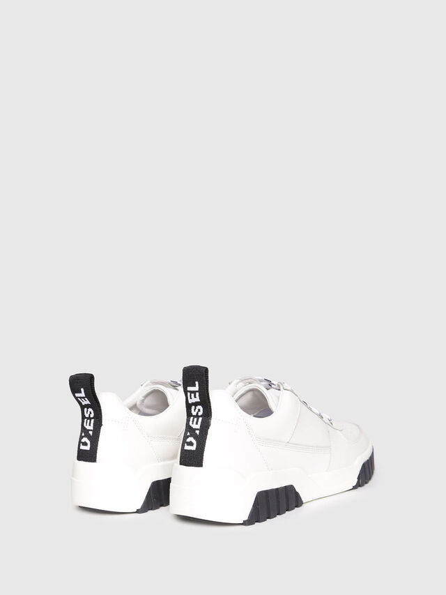 Diesel - S-RUA LC W, White - Sneakers - Image 3