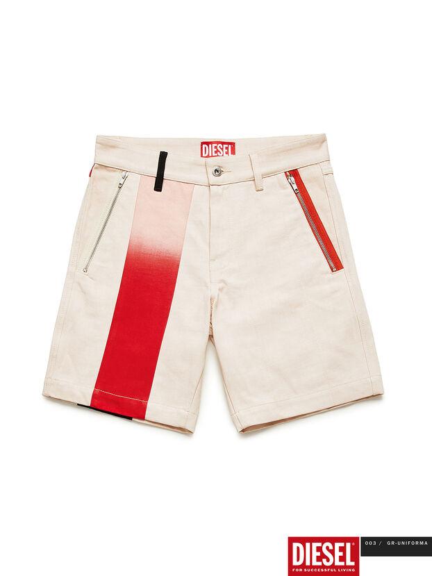 GR02-P303-P, White - Shorts