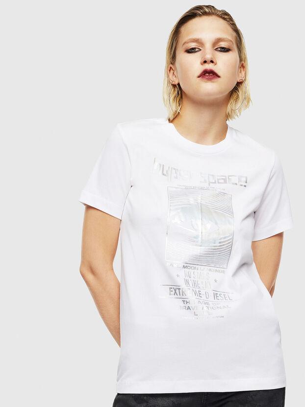 T-SILY-YB, White - T-Shirts