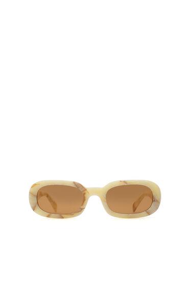 Iconic oval sunglasses