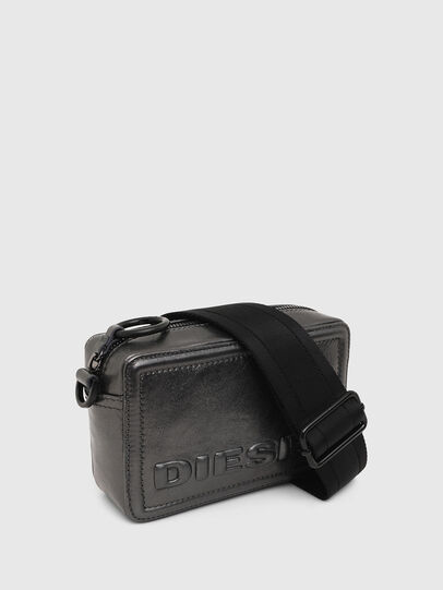 Diesel - ROSA' CNY, Silver - Crossbody Bags - Image 7