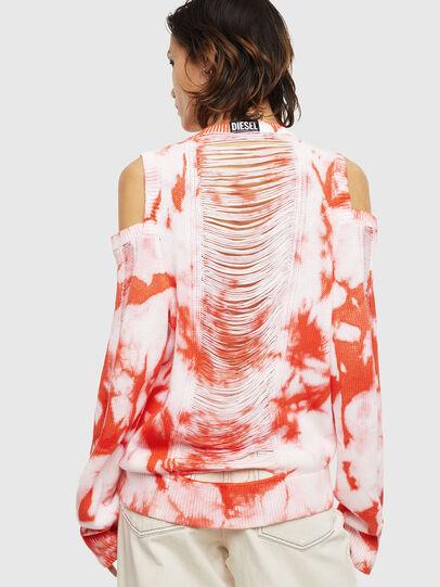 Diesel - M-BOBBY, Pink/White - Knitwear - Image 2
