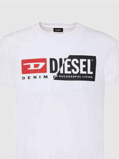 Diesel - T-DIEGO-CUTY, White - T-Shirts - Image 3