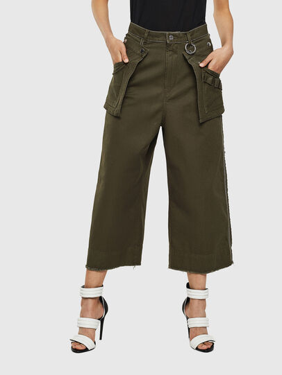 Diesel - P-RAEY, Military Green - Pants - Image 1