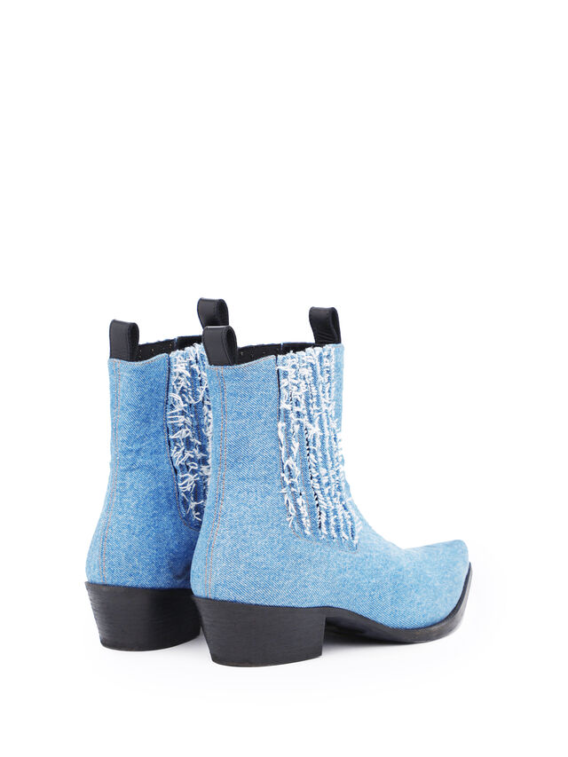 Diesel - SOCHELSEABOOT, Blue Jeans - Boots - Image 3