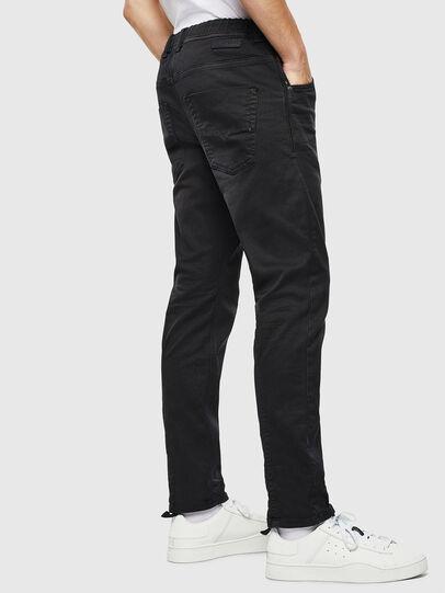 Diesel - Krooley JoggJeans 0670M, Black/Dark grey - Jeans - Image 4