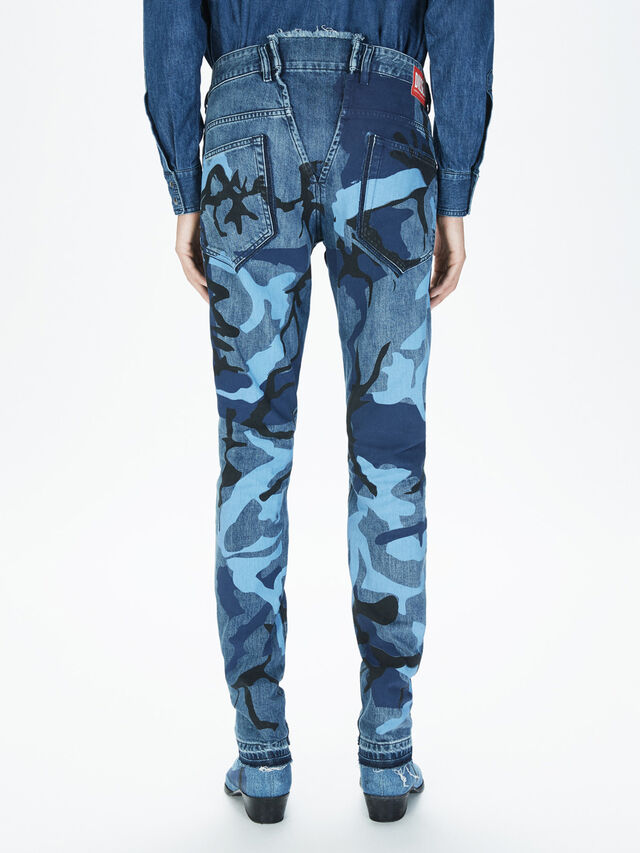 Diesel - SOPKN01, Melange Blue - Jeans - Image 4