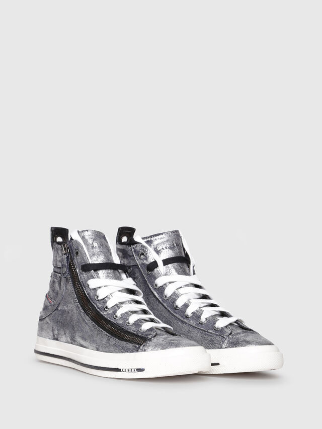 Diesel - EXPO-ZIP W, Silver - Sneakers - Image 2